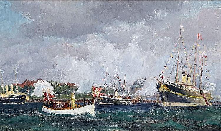 Christian Benjamin Olsen: The Russian Tsar's Imperial yacht
