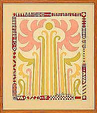 Poul Gernes: Nine compositions. All signed Poul