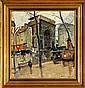 Knud Ove Hilkier A street scenery fom Paris., Knud Ove Hilkier, Click for value
