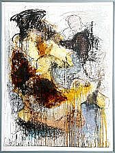 Lars Dan: Composition. Signed Lars Dan 94. Mixed