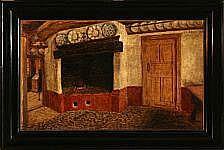 Carl Ludvig Jessen: Kitchen interior from