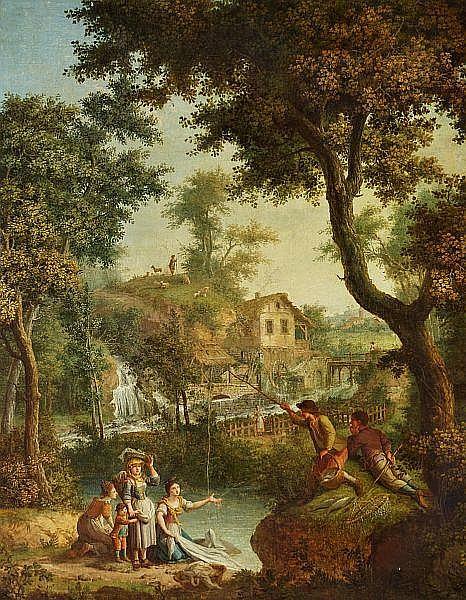 Giovanni Battista Innocenzo Colombo: Pastoral landscape.