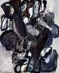 Mogens Andersen: Composition. Signed Mogens Andersen 1966. Oil on canvas. 65 x 54., Mogens (1916) Andersen, Click for value