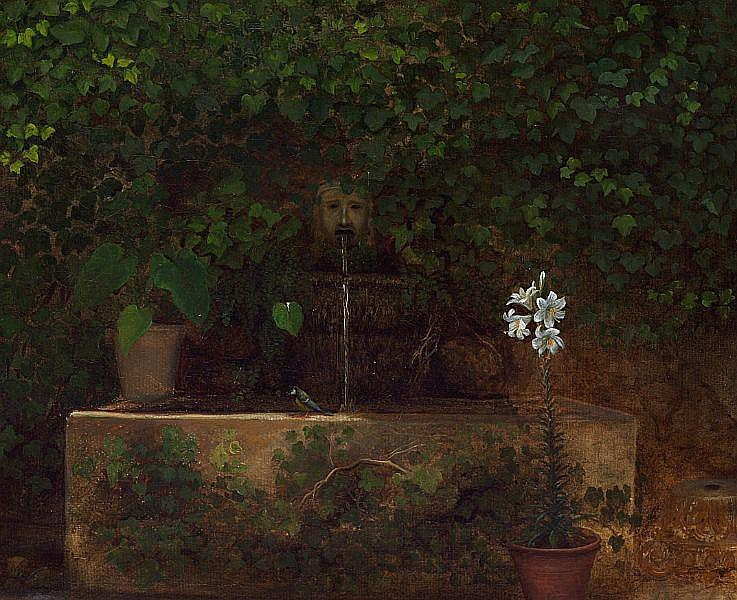William Hammer: A well in Rome.