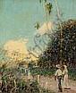 Hugo Larsen: View of St. Croix.