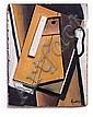 Wilhelm Freddie: Relief, c. 1927-28. Signed Freddie. Painted wood. 31 x 24 cm., Wilhelm Freddie, Click for value