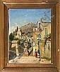 Fritz Stæhr-Olsen: Italian street scene. Signed, Fritz Stæhr-Olsen, Click for value