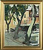 Knud Ove Hilkier A square in Firenze. Signature, Knud Ove Hilkier, Click for value