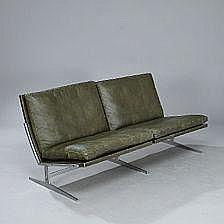 Preben Fabricius, Jørgen Kastholm: Two seater sofa