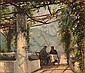 Sigvard Hansen: From a pergola in Ravello, Italy., Sigvard Hansen, Click for value