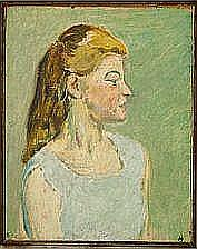 """Harald Giersing: """"Et pigebarn"""" (A young Girl),"""