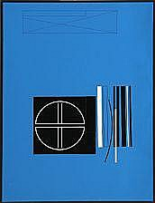 Mogens Lohmann: Composition, ALXVII. Signed on the