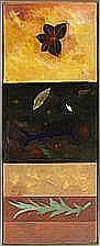 Bent Holstein: Yellow Pond I, II, III. Triptych.