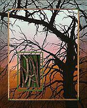 Poul Janus Ipsen : Winter Fragment. Signed on the