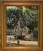 Sigvard Hansen From the Borghese Park in Rome., Sigvard Hansen, Click for value