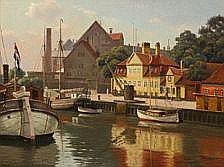 Kai Drews : View from Frederiksholms Canal,