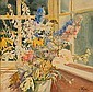 Olga Alexandrovna: Still life with flowers in a, Olga Alexandrovna, Click for value