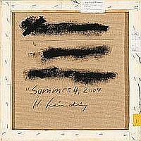 Hans Sieverding: Sommer 4, 2004. Signed, titled