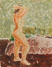 Helge Daner Jensen: Study of a nude. Unsigned.