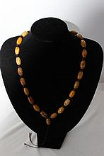 A Strand of Hardstone Beads