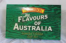Matchbox The Flavours of Australia Boxed Die Cast Models