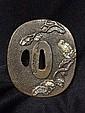 A Japanese Bronze Tsuba, Probably Meijii Period