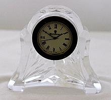 A Waterford Crystal Abbey Clock