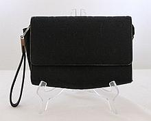 An Oroton Black Signature Essential Clutch Purse l