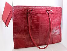 A Targus Satchel Bag, with matching coin purse , l