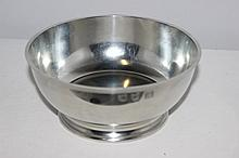 A Quality 17th Century Style Pewter Bowl John