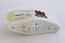 A Swan China Souvenir Ware Tank