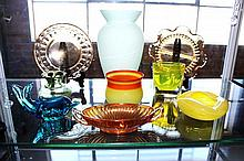 A Selection of Art Glass,