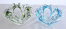 A Near Pair of Murano Float Bowls, c 1960