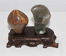 A Selection of Unusual Chinese Polished Linghbi Scholars Rocks