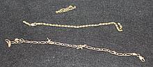 An Italian Yellow Gold Bracelet ,