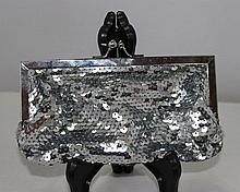 A Sequined Mounted Ladies Clutch