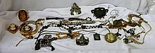 A Large Bag of Vintage Costume Jewellery