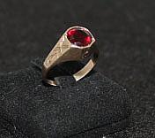 An Edwardian Rose Gold Dress Ring ,