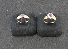 A Selection of Yellow Gold Ladies Dress Rings,
