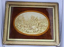 A Late 19th Century Plaster Relief ,