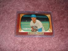 1955 Bowman Bobby Shantz Ex-Vg Condition Kansas City Athletics