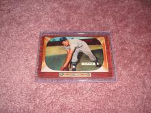 1955 Bowman Bill Hunter Ex-Vg Condition New York Yankees