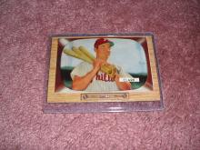 1955 Bowman Mel Clark Ex-Vg Condition Philadelphia Phillies
