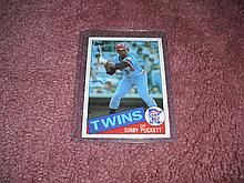 1984 Topps Kirby Puckett Rookie Card