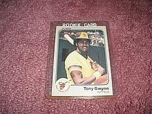 1983 Fleer Tony Gwynn Rookie Card