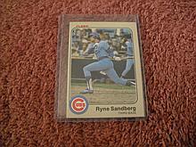 1983 Fleer Ryne Sandberg Rookie Card