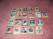 Oakland A's Autograph Team 21 Card Lot