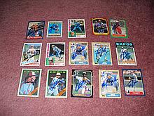 Montreal Expos Autograph 14 Card Team Lot