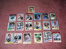 Minnesota Twins Autograph 19 Card Team Lot