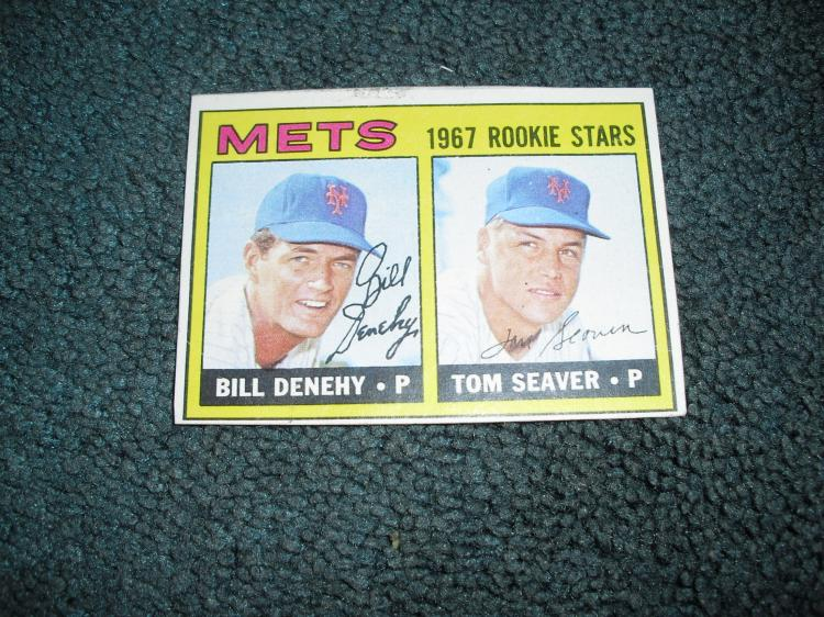 1968 Topps Tom Seaver Rookie Card